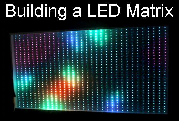 Beliebt Bau einer RGB LED Matrix (1600mm x 800mm) - Sonstige LED QH84
