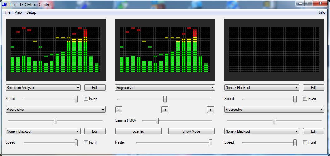 Jinx! - LED Matrix Control     und die nächste Matrix